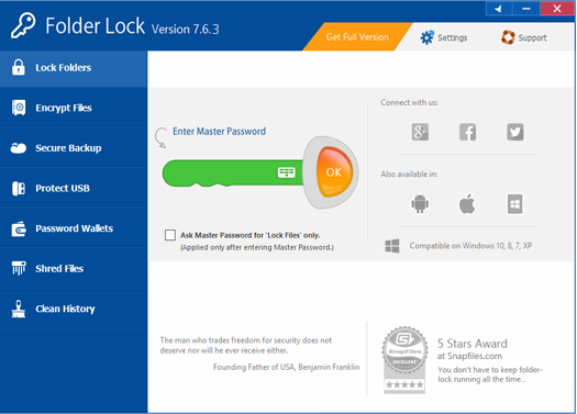 Folder Lock 40 off coupon long time offer promo and