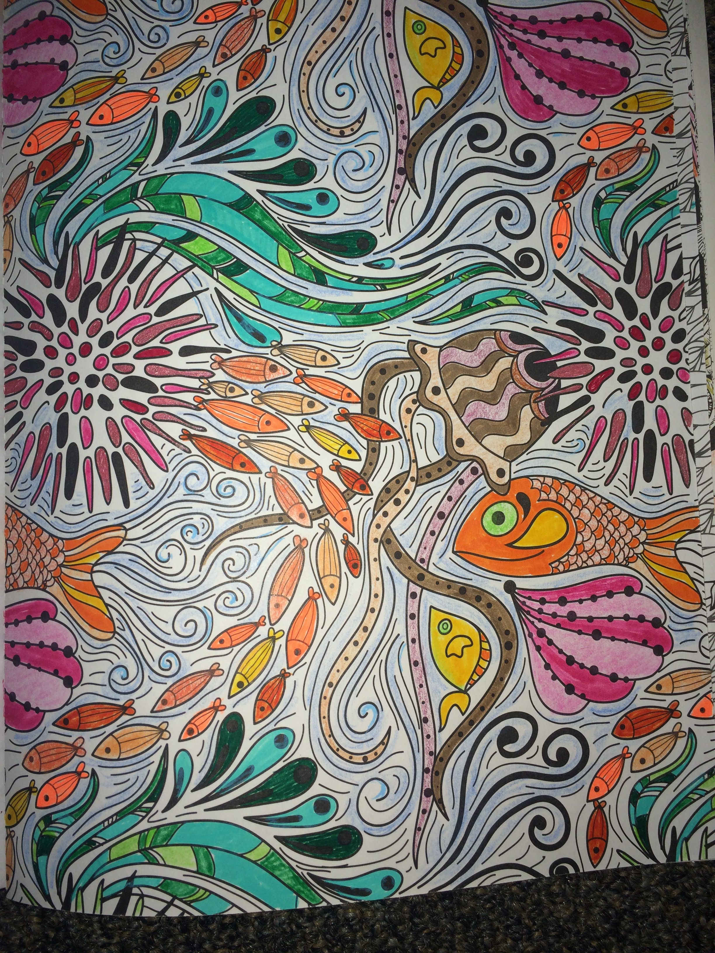 Coloring book color of art - From Ocean Wonder S Color Art For Everyone