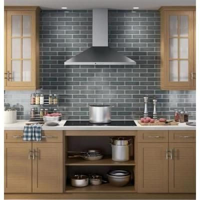 Ge 36 In Convertible Wall Mount Range Hood With Light In