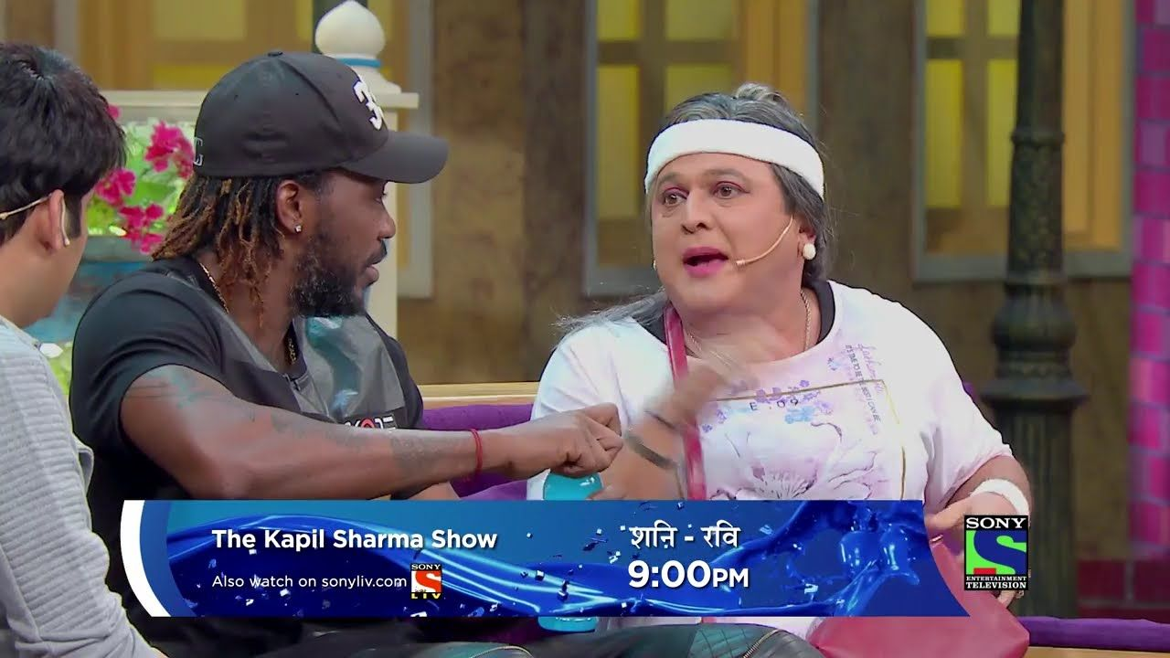 Chris Gayle as a Guest of This Weekend The Kapil Sharma Show