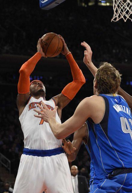 Dallas Mavericks vs. New York Knicks NBA pictures - Newsday