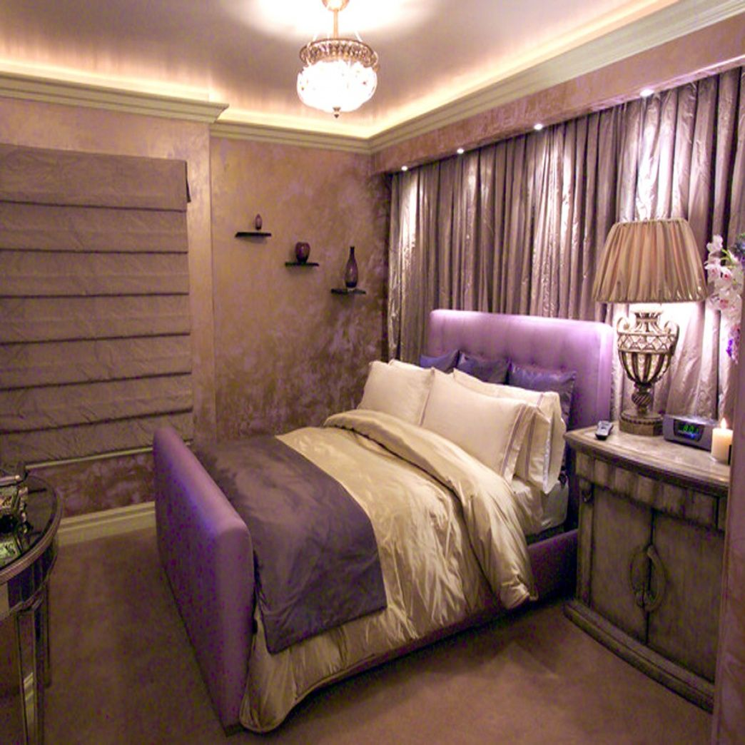 Fresh Cream And Purple Bedroom Check More At Http Maliceauxmerveilles