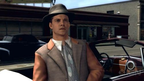 Detective Roy Earle Ad Vice L A Noire Detective Game Character Roy