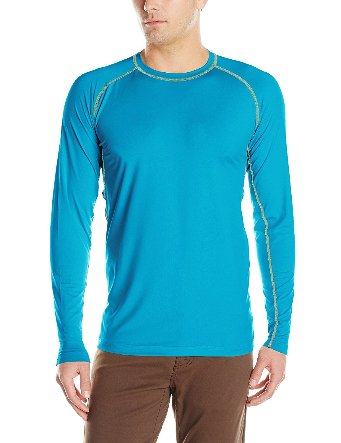 ExOfficio Men's Sol Cool Long-Sleeve Crew Tee -- Startling review available here  : Camping clothes