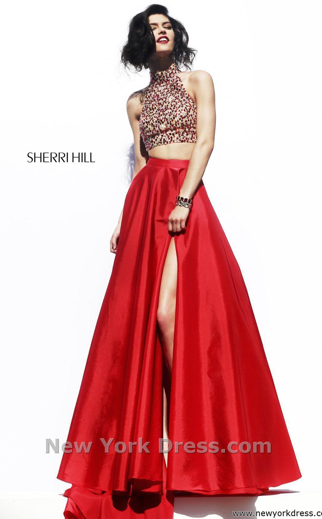 Sherri hill dress bodice prom and ring