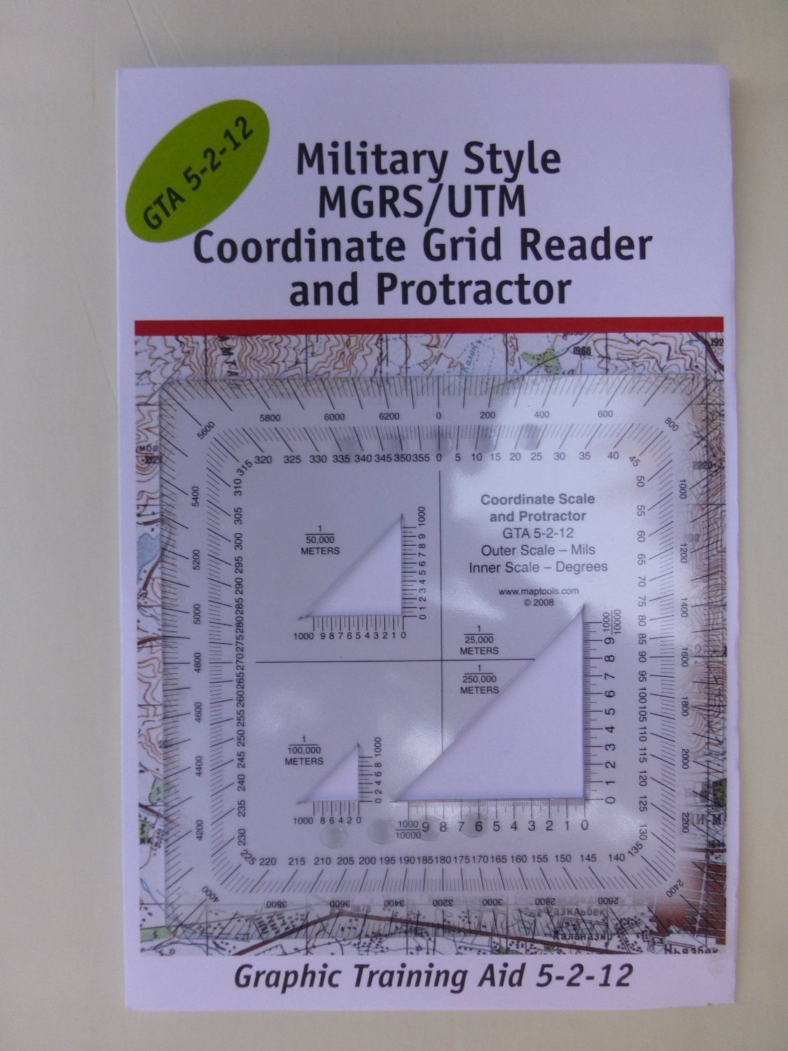 Military Style Mgrs Utm Coordinate Grid Reader