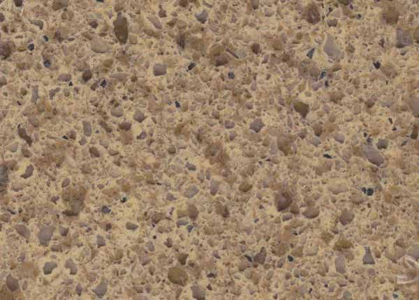 English Toffee Quartz From HanStone Color Collection
