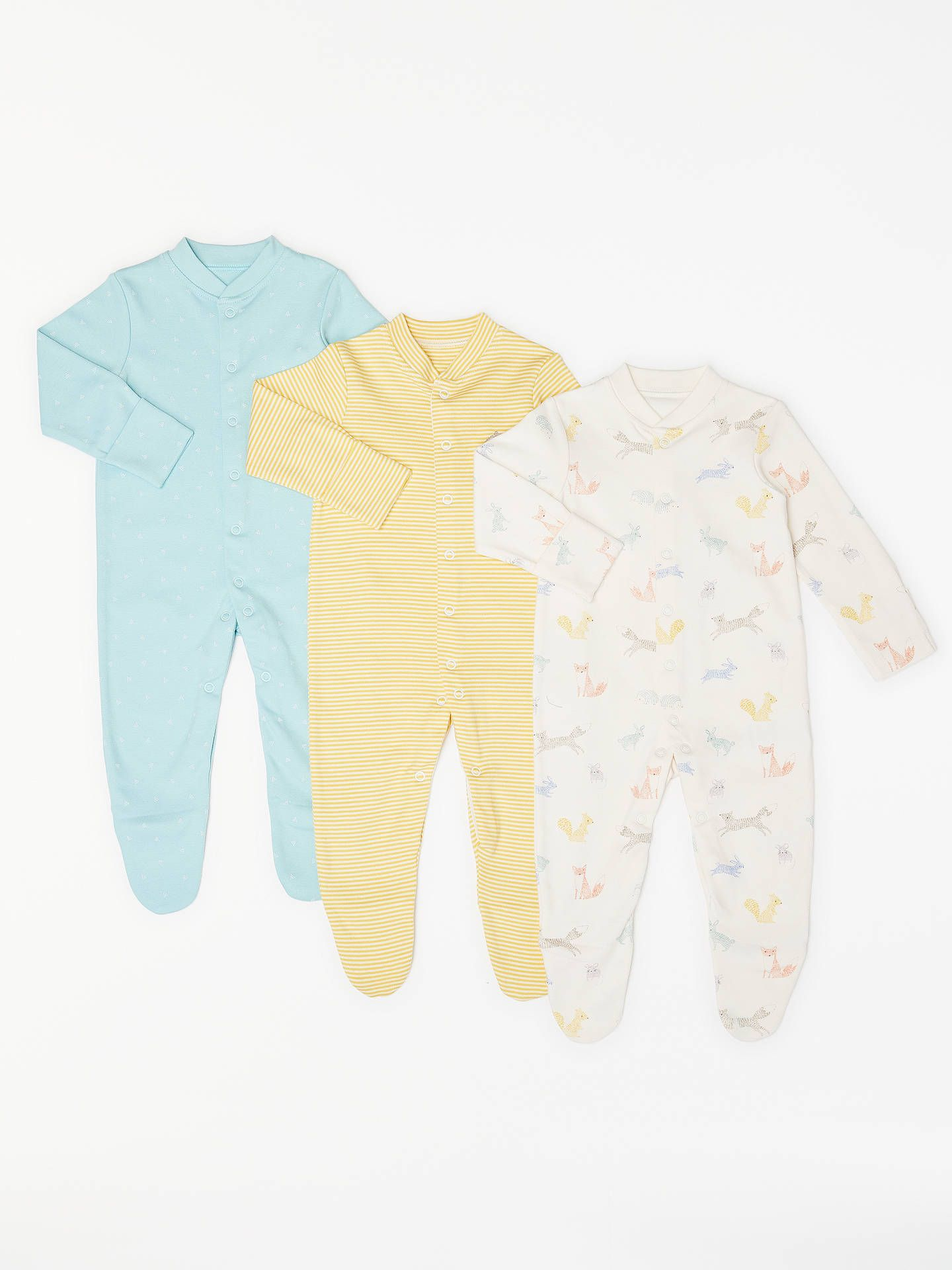 ee7c1446931d BuyJohn Lewis   Partners Baby Forest Friends GOTS Organic Cotton ...