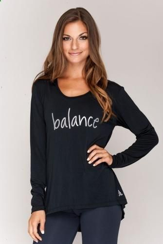 Balance Fitwear Balance Womens Hoodie in Black