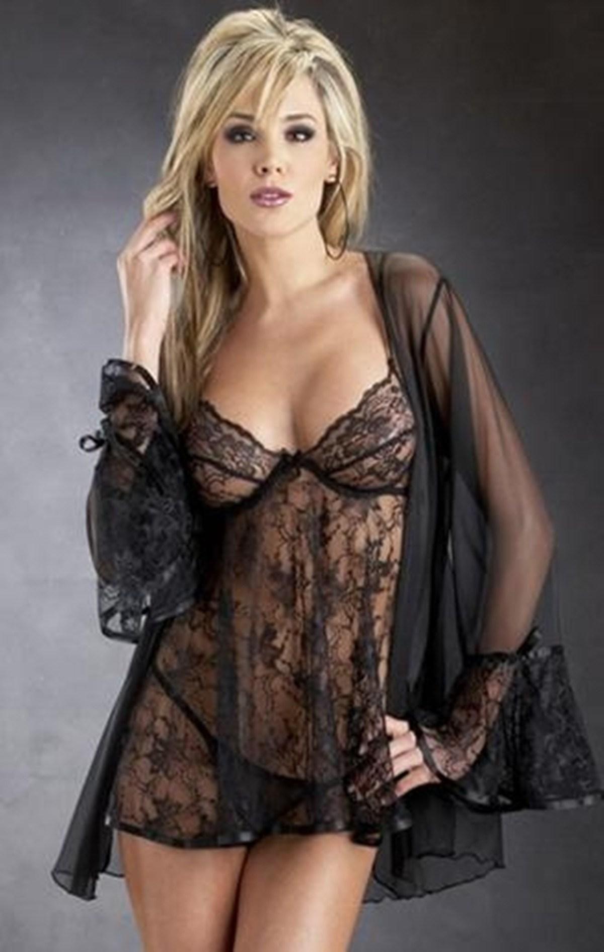 359c716bd Hot Women Lingerie Sexy Sheer Skirt Babydolls Robes Lace Teddies Lady  Underwear Sleepwear Nightwear T-022 from Majasale