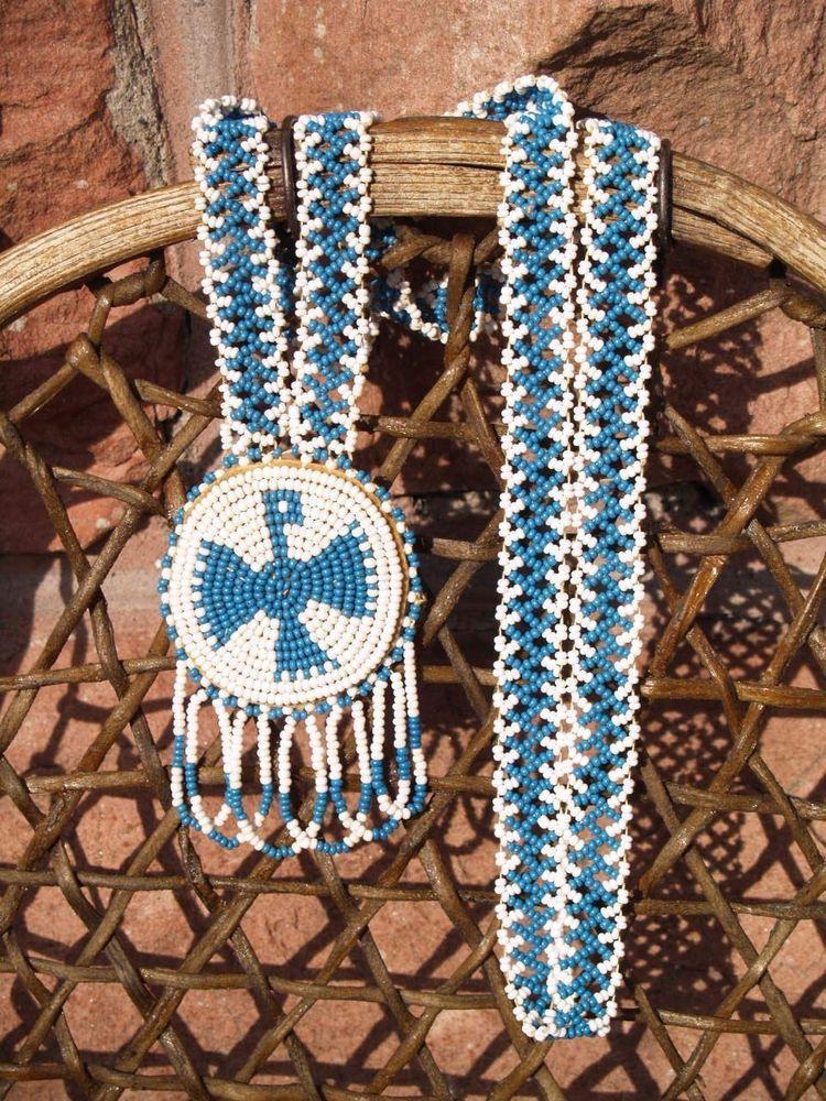 OjibwaChippewa American Indian Vintage Hand Beaded