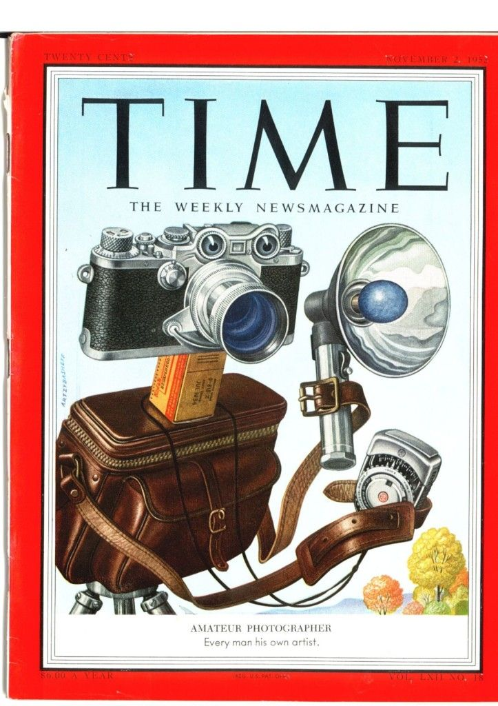 Leica stars on Time magazine cover - timeless value of