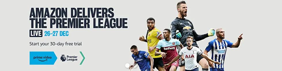 Amazon Boxing Day football — How to watch Amazon's festive