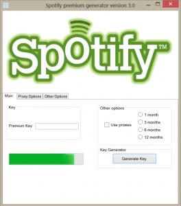 spotify premium account generator for pc