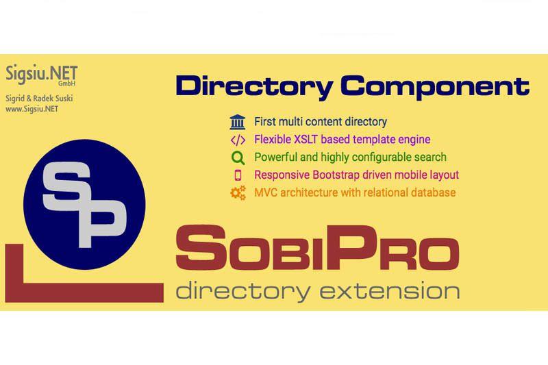 Sobipro V1 3 7 Joomla 3 X Disenos De Unas Extensiones Comunidad