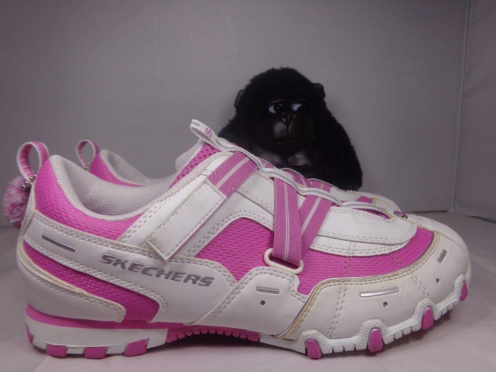 Skechers Pink Elastic Velcro It's The S