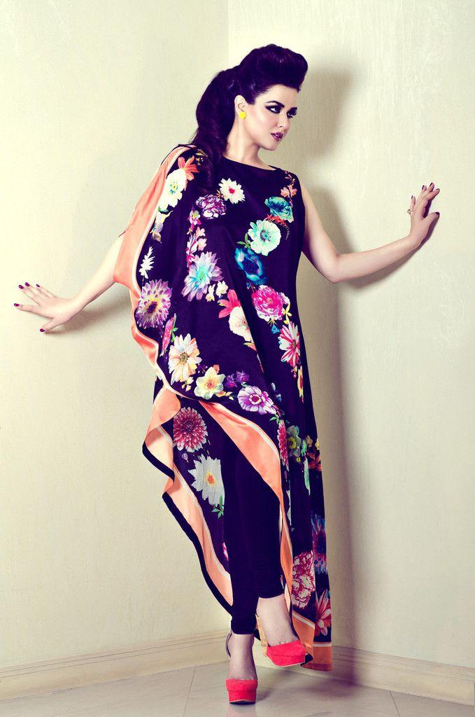 mina hasan, live the florals!   N 2 fashion   Pinterest   Moda mujer ...