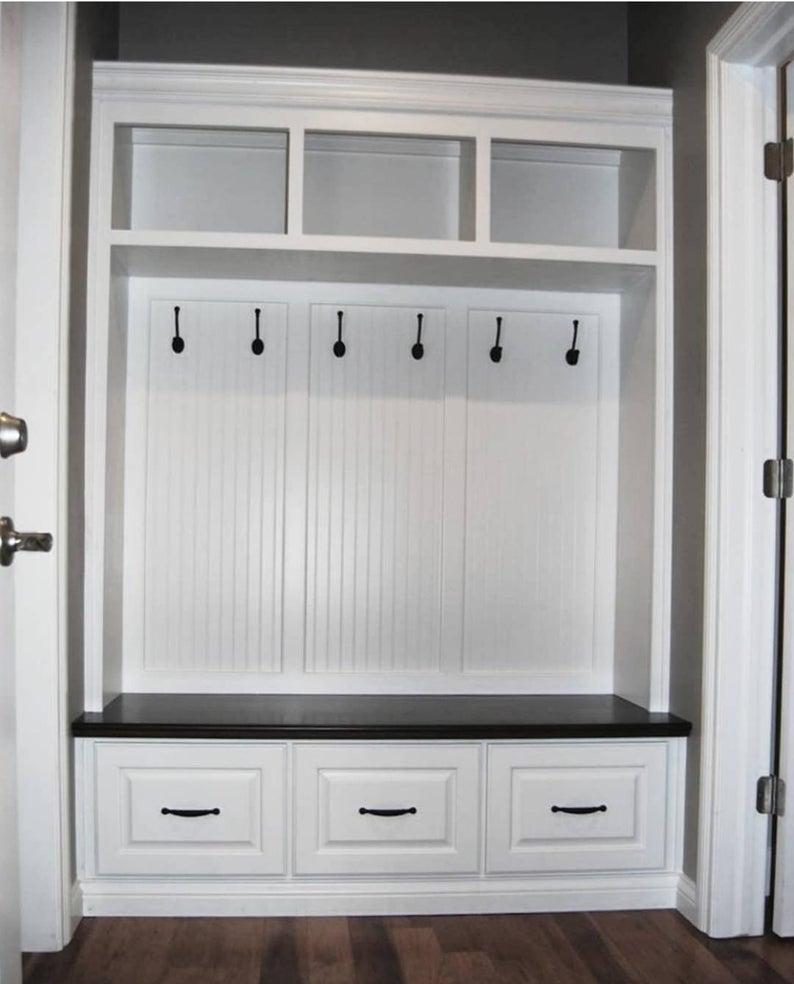 The Virginia Mudroom Lockers Bench Storage Furniture Cubbies Hall