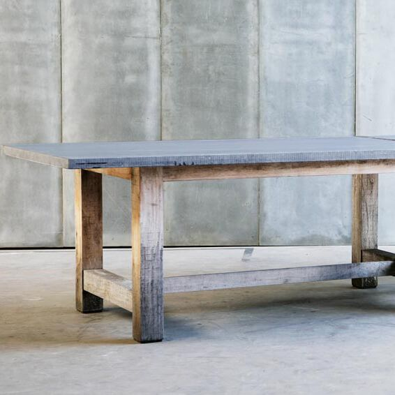Bluestone and Oak Table – Outdoor or Indoor | Dining Tables | Pinterest