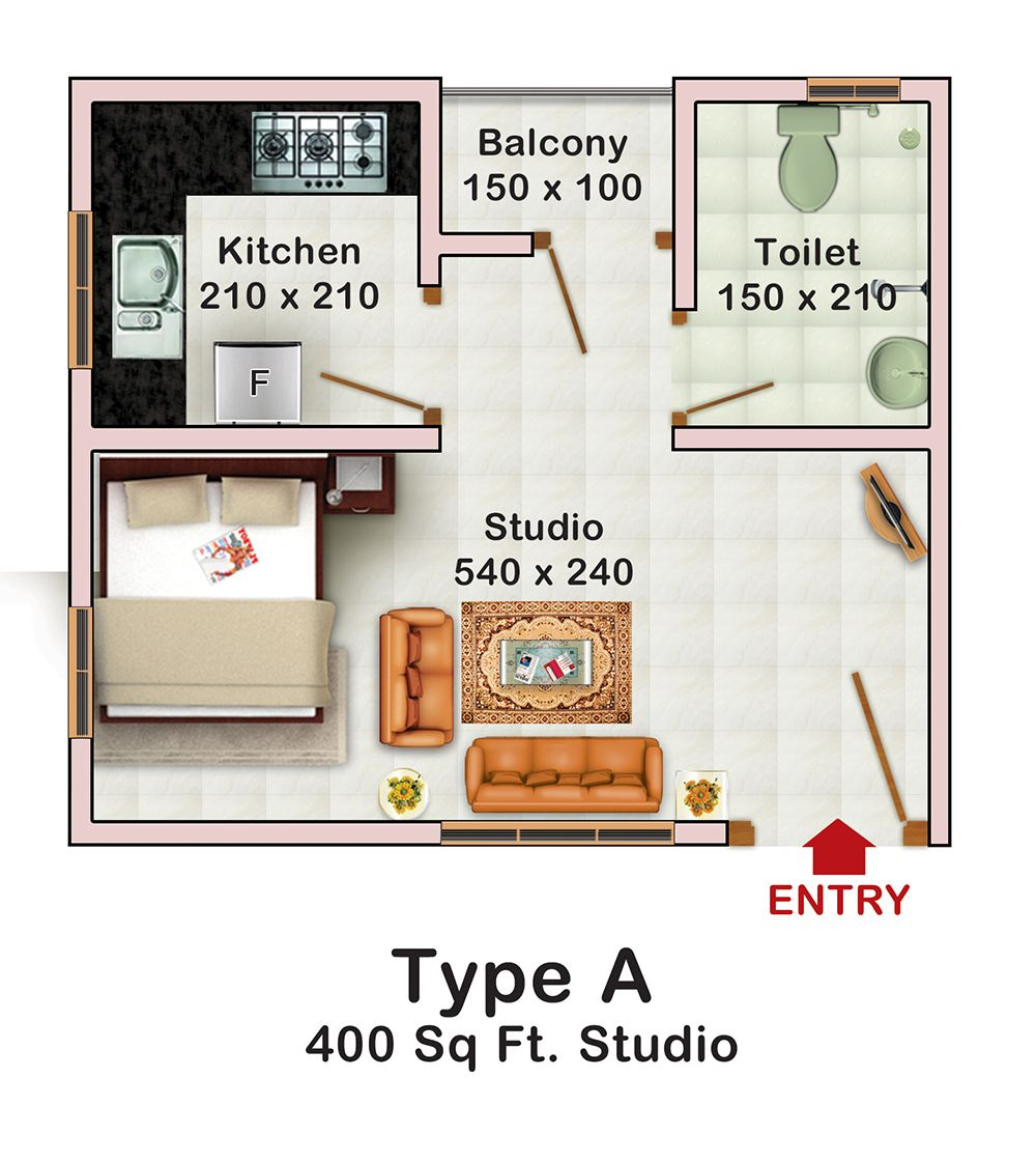 400 Sq Ft 400 sq ft idea | mayapple idea | pinterest | small spaces