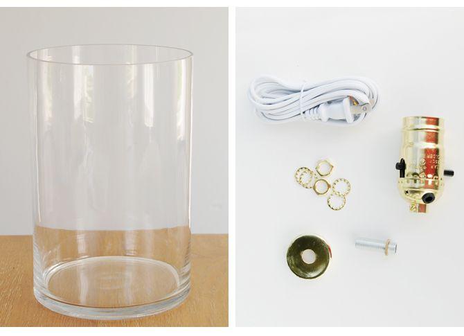 Detailed Tutorial Diy Glass Lamp Crafts 3 Pinterest Glass