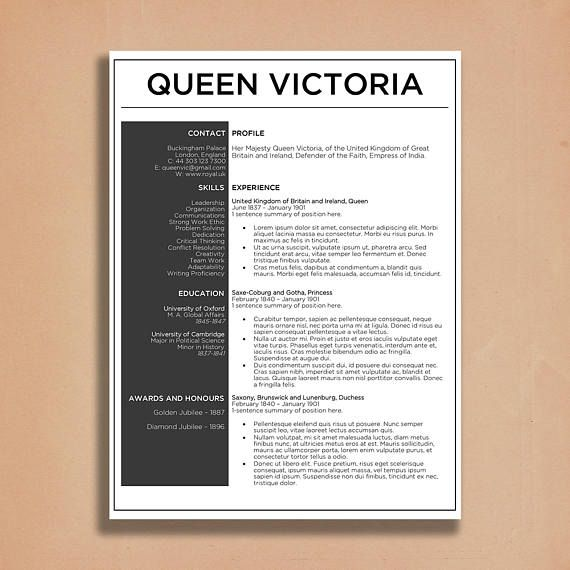 This TwoPage Resume Template Will Make You Stand Out From The