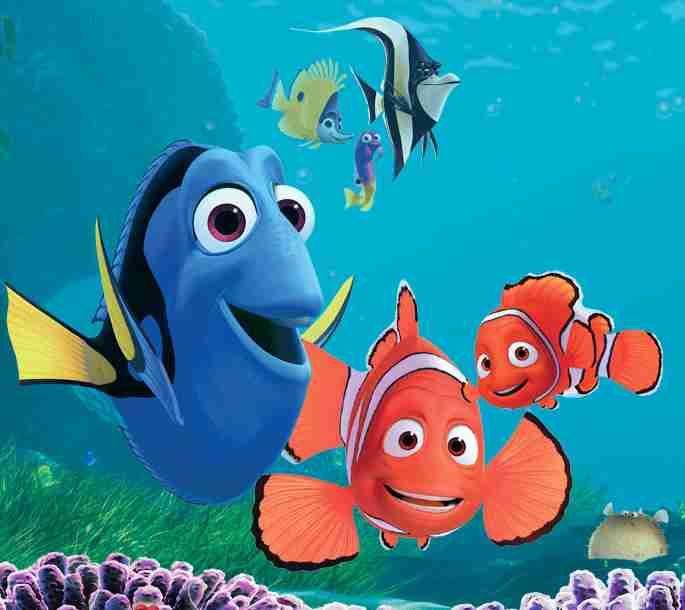 http://www.solarnavigator.net/films_movies_actors/cartoons ...  Walt Disney Pictures Presents A Pixar Animation Studios Film Finding Nemo