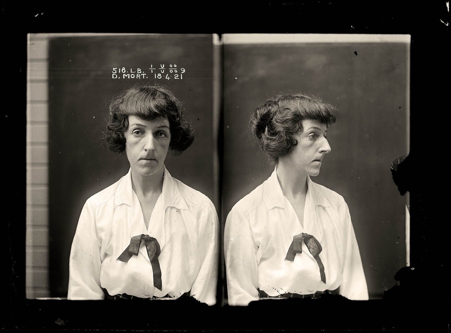 The vintage mugshots of shoplifters bank robbers and murderers from - Dorothy Mort 18 April 1921 Convicted Of Murder Mrs Dorothy Mort Was Having An Affair With Dashing Young Doctor Claude Tozer On 21 December 1920 Tozer