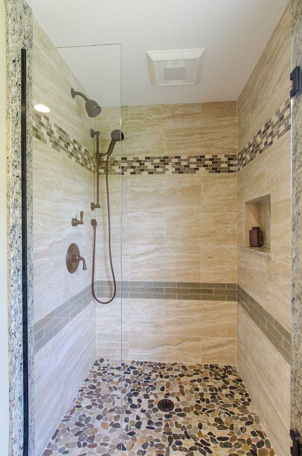 Tile Shower Nashua NH Bathroom Design Ideas Pinterest Tile - Glass accent tiles for bathroom for bathroom decor ideas