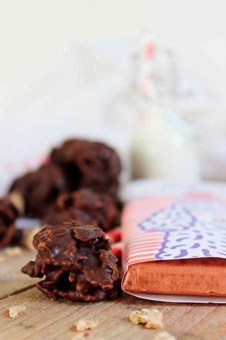 Roses Des Sables Au Chocolat Noir Chocolat Pinterest