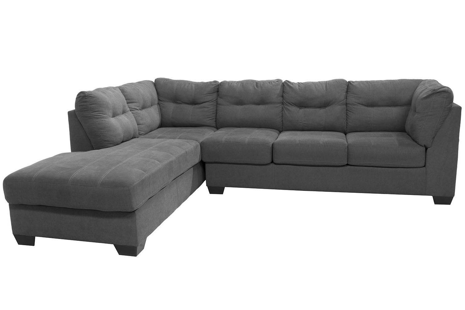 Mor Furniture For Less The Maier Left Facing Chaise Sectional Mor Furniture For Less Living