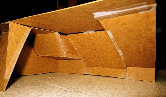 Concept For A Basement Bouldering Cave Architectural Landscape Design