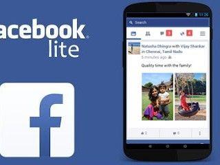 Versi Facebook Lite Diperbarui Ruang Ringan Ramping Lite