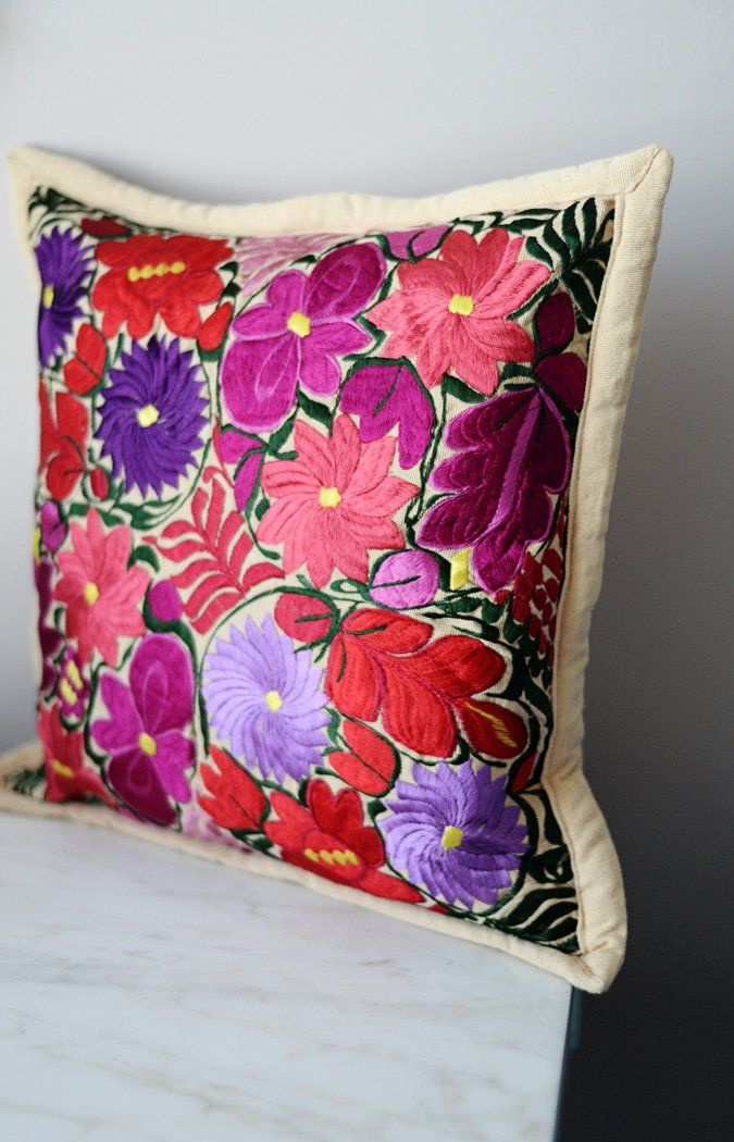 Home Textile Indian Floral Pillow Geometric Cushion Covers Spain Classic Retro Home Decor Sofa Car Bedding Pillow Cases Talavera Tile Designs Grade Products According To Quality