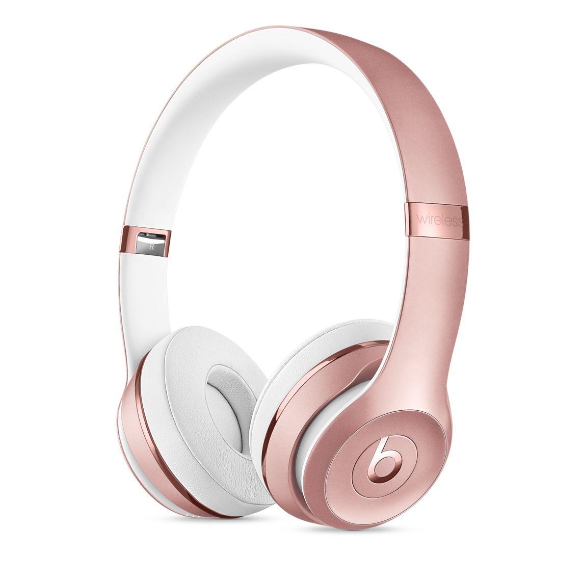 Beats Solo3 Wireless On Ear Headphones Rose Gold Apple Headphones Gold Headphones Wireless Headphones