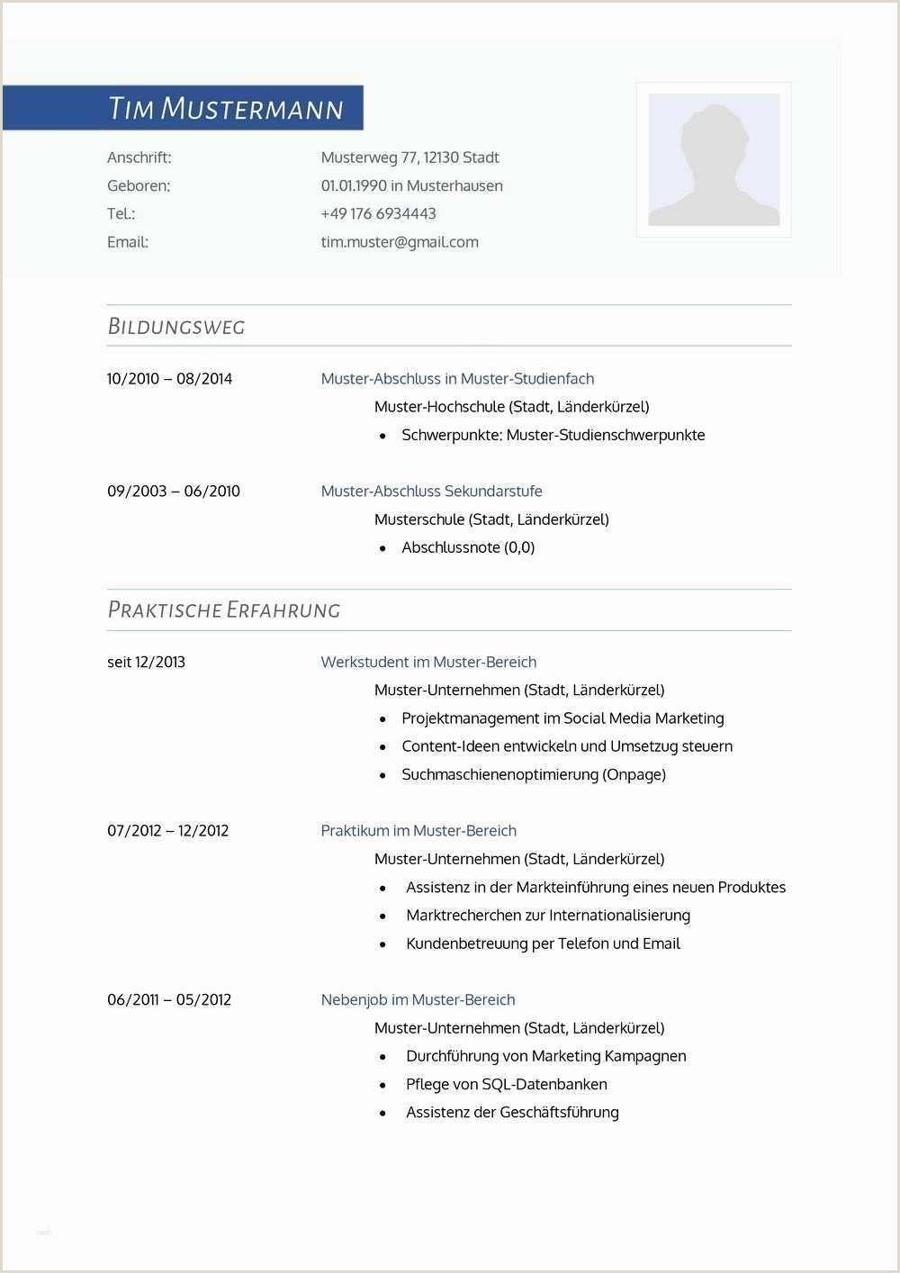 Lebenslauf Vorlage Einfach Schuler In 2020 Resume Template Free Resume Template Document Templates