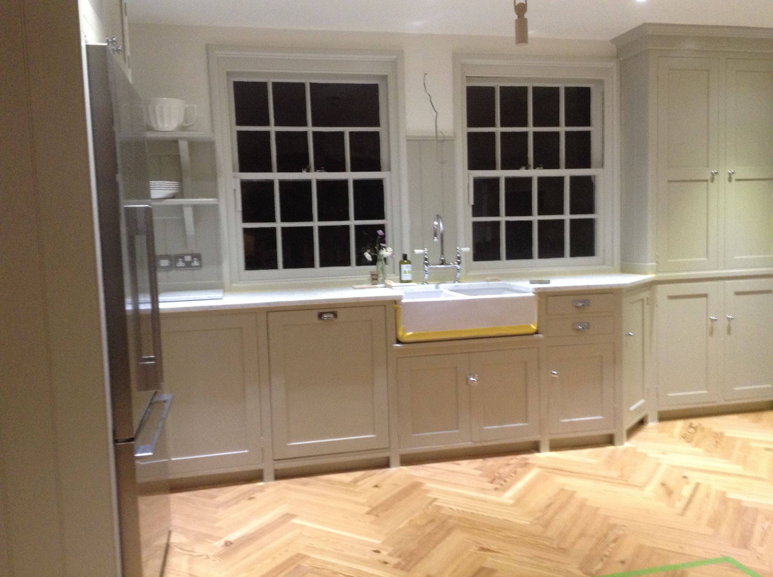 Best Farrow And Ball Drop Cloth On The Cabinets Simple 400 x 300