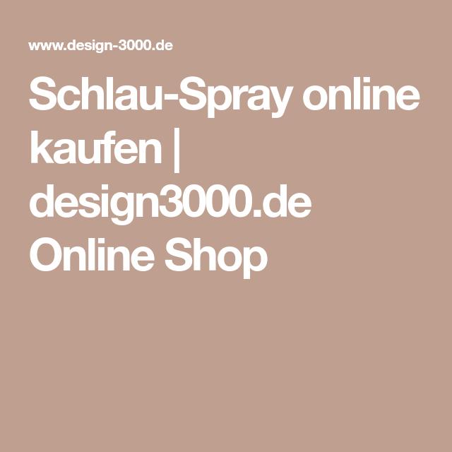 Schlau-Spray online kaufen   design3000.de Online Shop