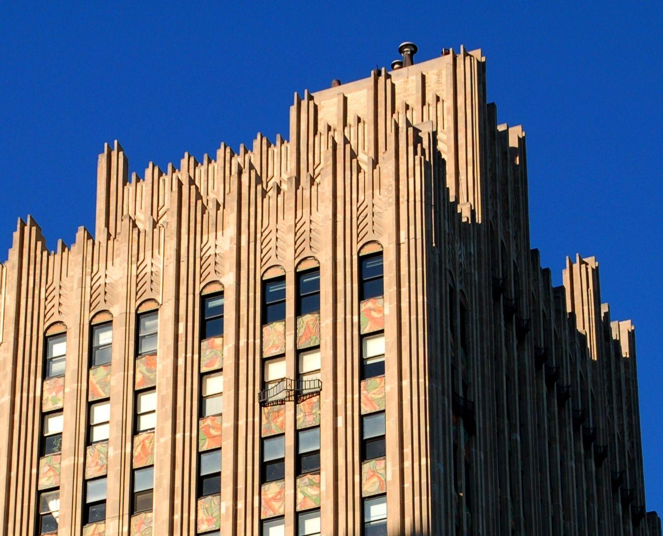 Art Deco Chicago Powhatan Apartments 4950 South Beach Drive Hyde Park Designed By Robert Lyer 1928