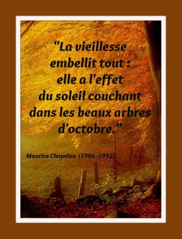 Citation Octobre De Maurice Chapelan Citation Et Octobre