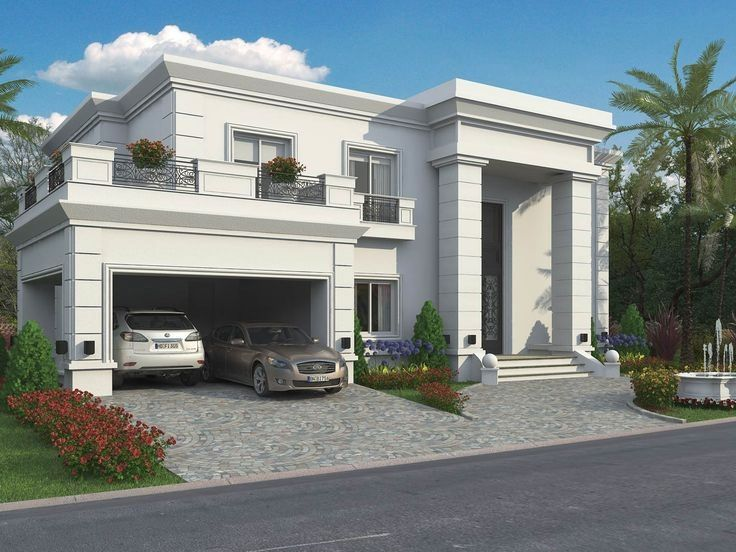 Casa tipo campo de estilo cl sico clasicas casas for Fachadas de casas estilo clasico