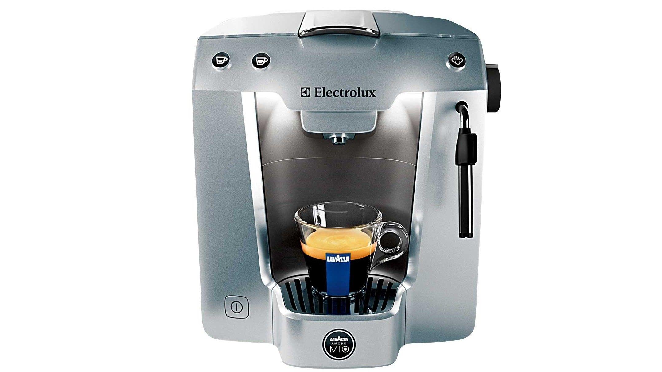 Electrolux Premium Silver Capsule Espresso Machine