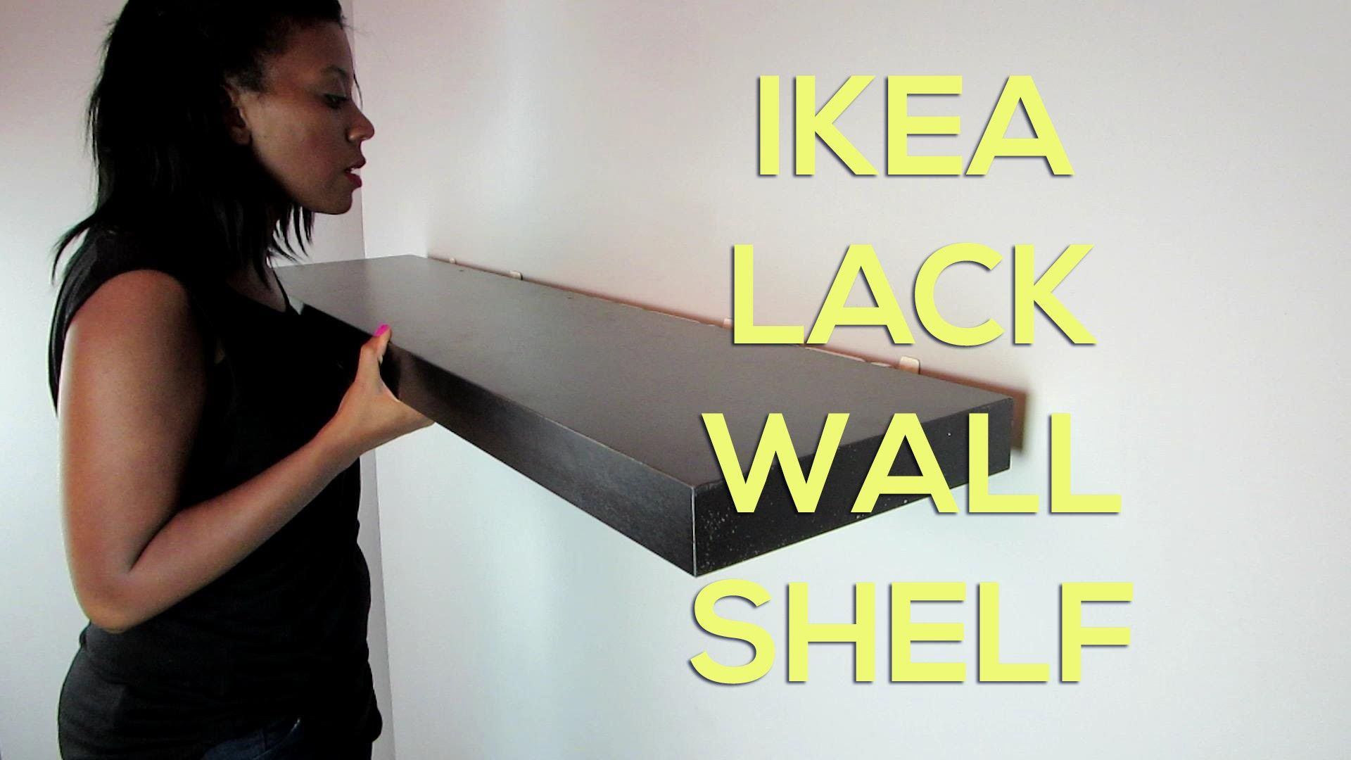 how to install ikea shelves