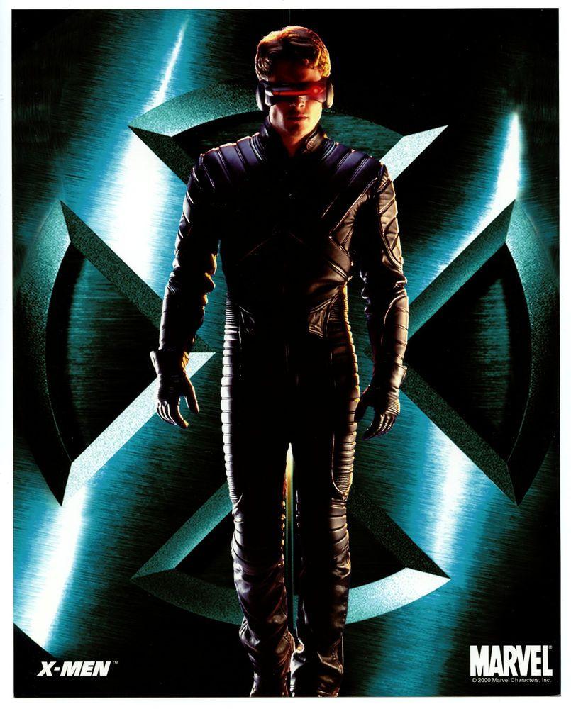 X Men Movie James Marsden Cyclops Official 8x10 Glossy Photo New 2000 Ebay Man Movies X Men Wolverine Hugh Jackman