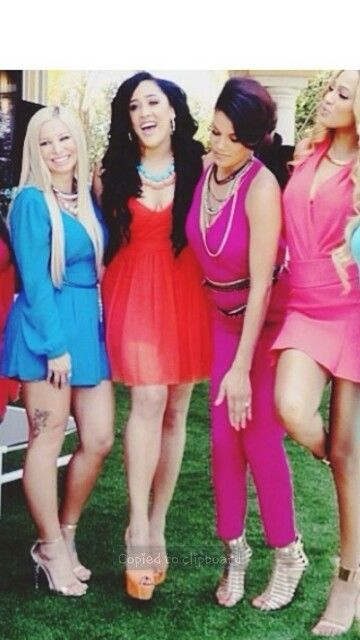 Sarah Rocky Nat Camilla Are Apart Of Bgc13 I Luv Bgc