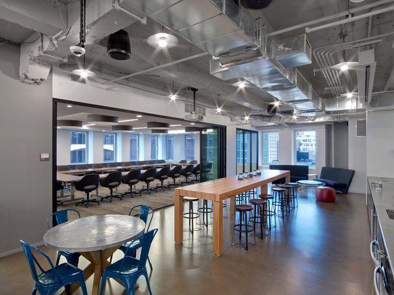 Condé Nast Entertainment New York 2014 Tpg Architecture City Office Office Design Architecture