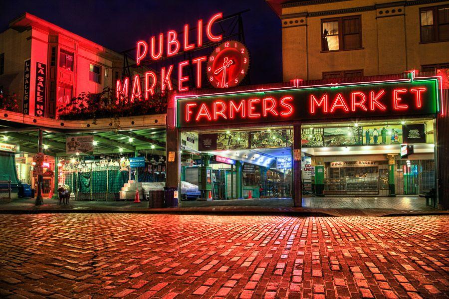 Pike Place Market Visual Sensory Photography