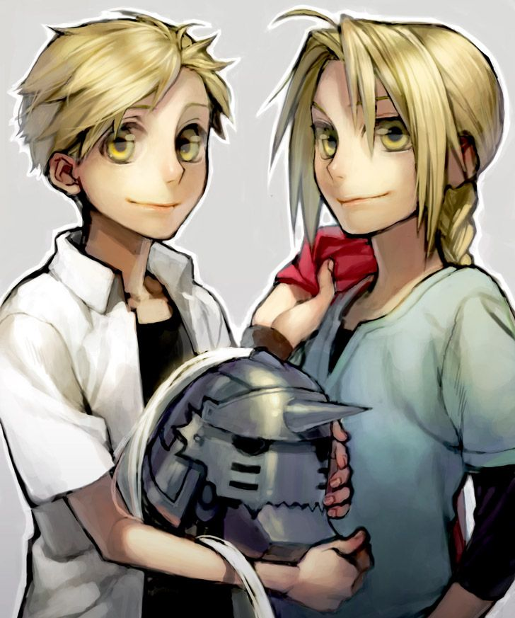 Fullmetal Alchemist ~ Edward And Alphonse Elric
