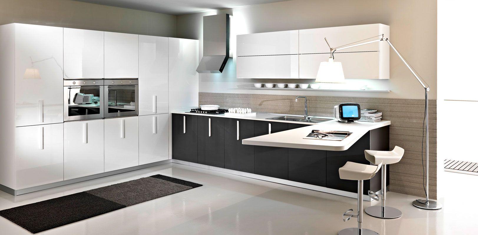 luxurious modern kitchen designs in pune by meine küche platina, Kuchen dekoo
