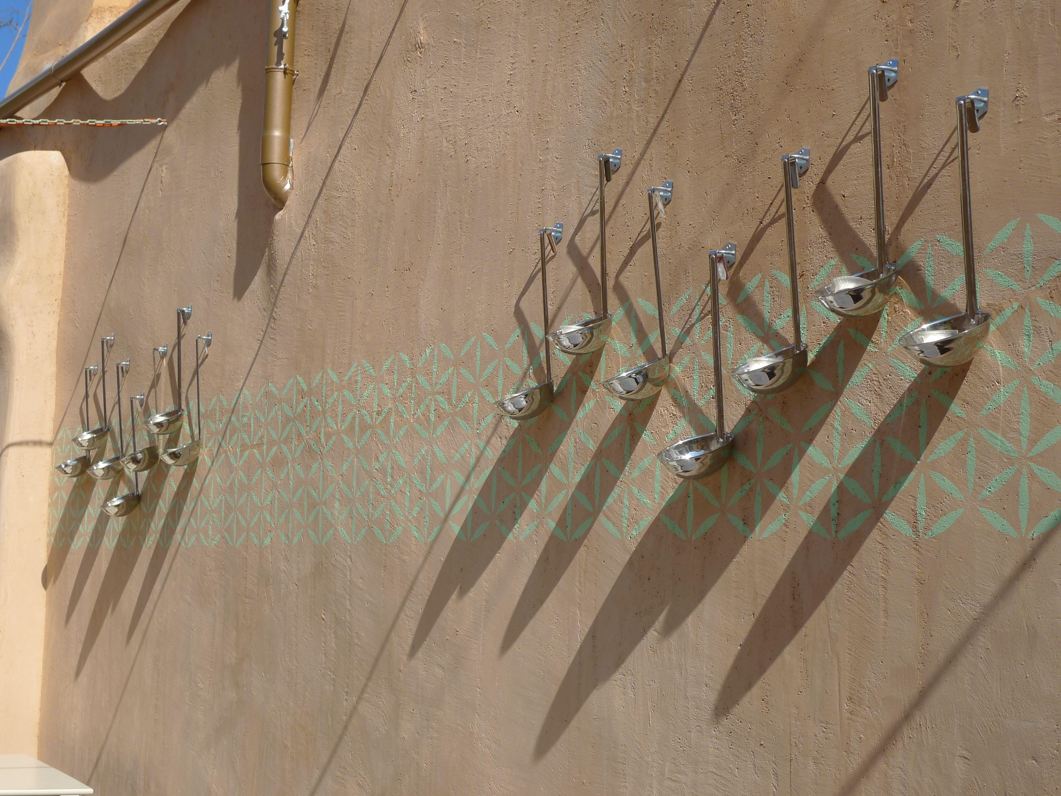 Såsslevar som dekoration. Chania, Kreta 2013